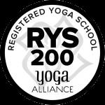 Yoga Alliance SCHOOL RYS 200 logo