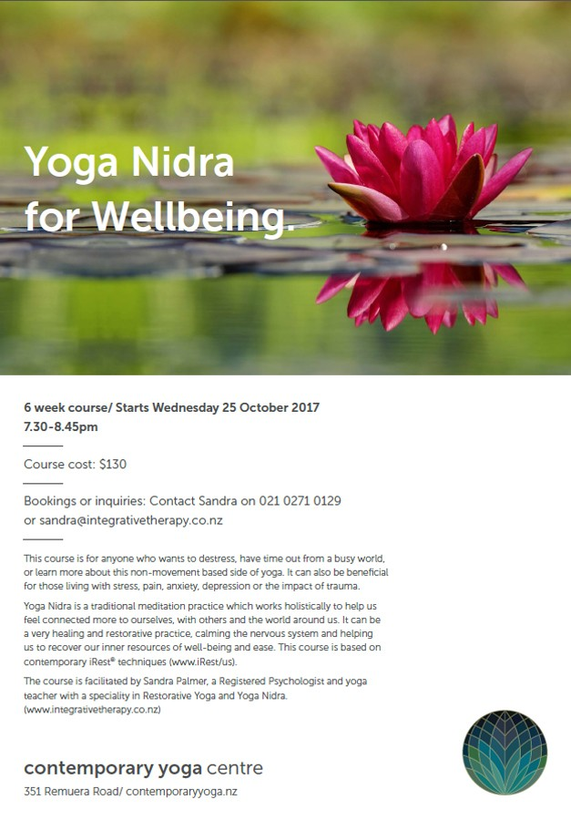 iRest Course with Sandra Palmer
