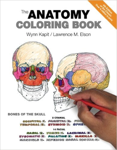 Anatomy Coloring Book by Kapit and Elson