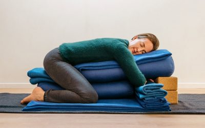 Karla is featured in a Sunday Star Times article on Restorative Yoga