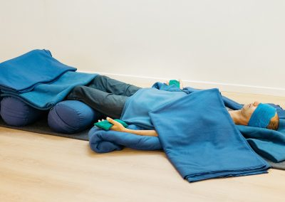Neal Ghoshal, Restorative Yoga Teacher Training, Auckland, New Zealand - Supported Full Savasana