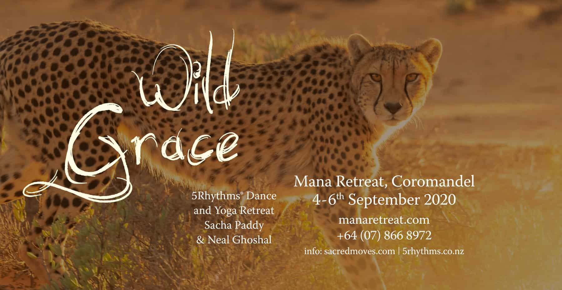 Wild Grace - Yoga and 5Rhythms Dance workshop with Neal Ghoshal and Sacha Paddy