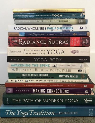 Contemporary Yoga Teacher Training, Best Yoga Books