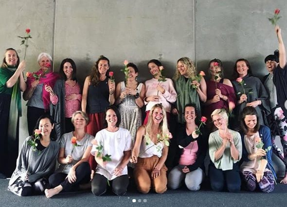Contemporary Yoga Teacher Training, Pregnancy Yoga Teacher Training Group