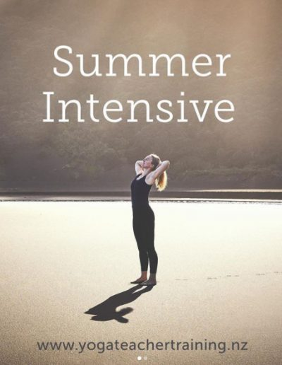 Contemporary Yoga Teacher Training, Summer Intensive